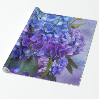 Hydrangea Bouquet Art Gift Wrap