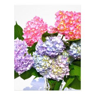 Hydrangea Bouquet Letterhead