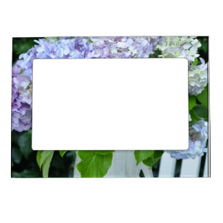 Hydrangea Bouquet Picture Frame Magnets