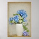 Hydrangea Bouquet Poster