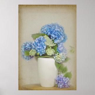 Hydrangea Bouquet Posters