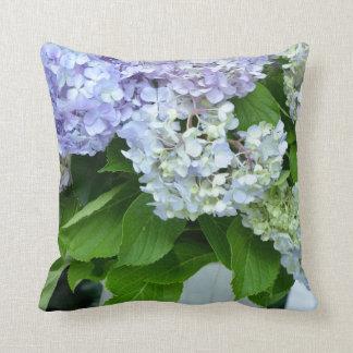 Hydrangea Bouquet Throw Pillow