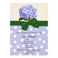 Hydrangea Bridal Shower Invitation
