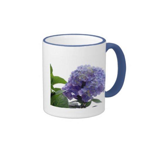 Hydrangea Bush Coffee Mug
