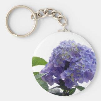 Hydrangea Bush Keychain