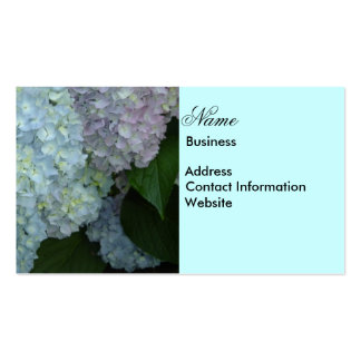 Hydrangea Business Card