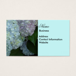 Hydrangea Business Card