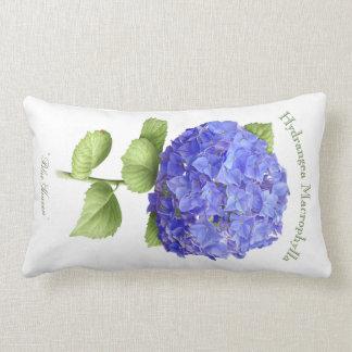 """Hydrangea """"cielo azul """" almohadas"""