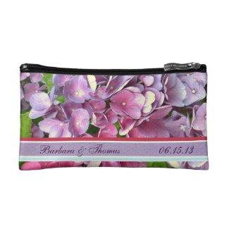 Hydrangea Cosmetic Bag