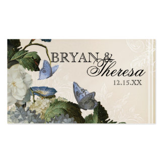 Hydrangea de la correhuela - tarjetas del asiento  tarjeta personal