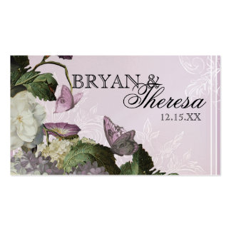 Hydrangea de la correhuela - tarjetas del asiento tarjetas de visita