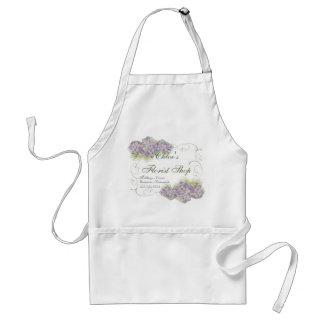 Hydrangea de la lila de la apariencia vintage - de delantal