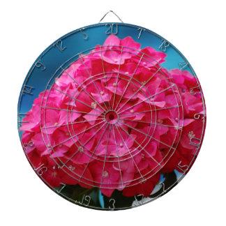 Hydrangea de las rosas fuertes tabla dardos
