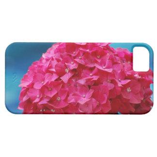 Hydrangea de las rosas fuertes iPhone 5 cobertura