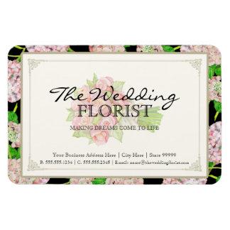 Hydrangea del rosa del ramo del negocio del boda d imán flexible