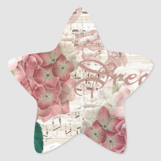 Hydrangea Dream Star Sticker