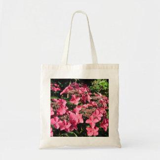 Hydrangea. Flores rosadas Bolsa