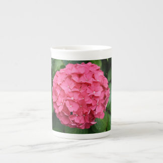 Hydrangea Flower Bone China Mug