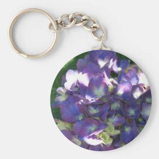 Hydrangea Flower Keychain