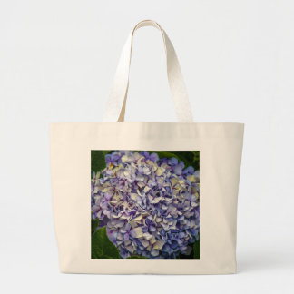 Hydrangea flower large tote bag