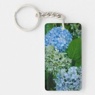 Hydrangea Flowers Keychain