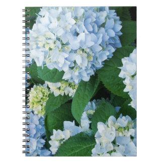 Hydrangea Flowers Notebook