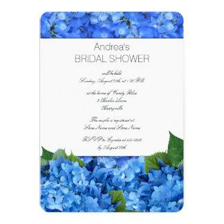 Hydrangea Garden Bridal Shower Card