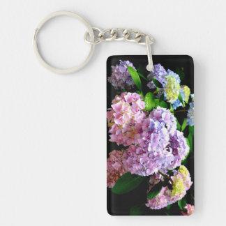 Hydrangea Gardens Keychain