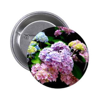 Hydrangea Gardens Pinback Button