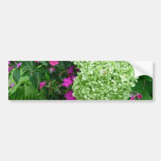 Hydrangea Greenery Bumper Sticker