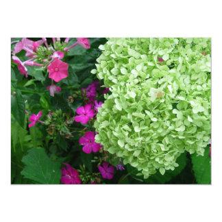 Hydrangea Greenery Card