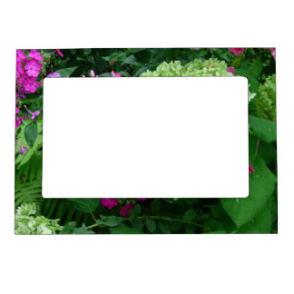 Hydrangea Greenery Magnetic Picture Frame