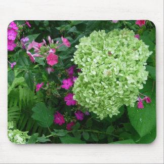 Hydrangea Greenery Mouse Pad