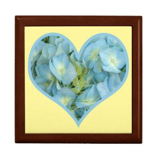 Hydrangea Heart Gift Box