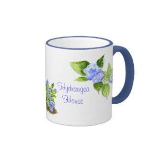 Hydrangea House Coffee Mug