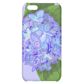 hydrangea cover for iPhone 5C