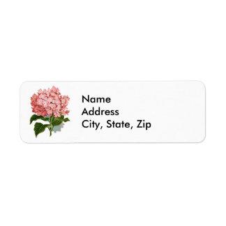 Hydrangea Label