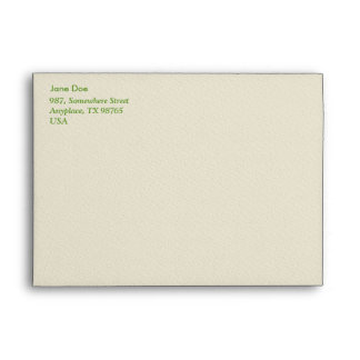 Hydrangea macro envelope