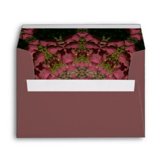 Hydrangea Mandala Mauve Envelope