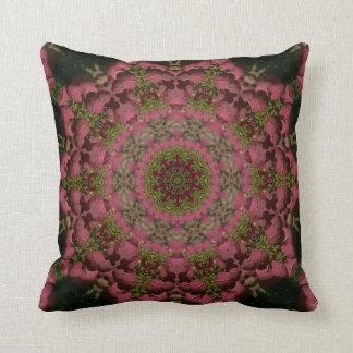 Hydrangea Mandala Mauve Pillows