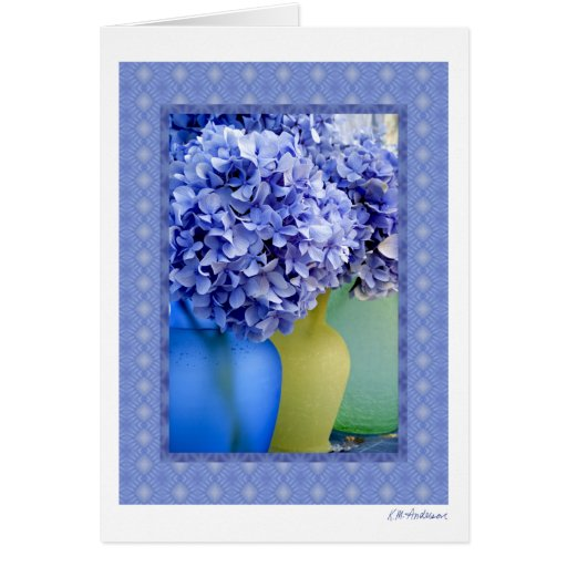 Hydrangea medley VII Card