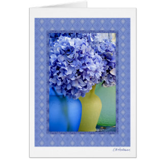 Hydrangea medley VII Greeting Card