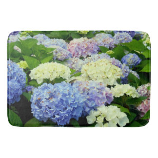Hydrangea Mix-Large Bath Mat