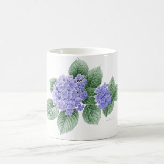 Hydrangea mug by Ho Mang Hang