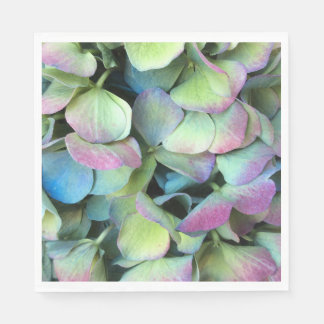 HYDRANGEA  Multi-color petals --- Napkin