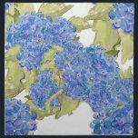 "Hydrangea Napkin<br><div class=""desc"">watercolor hydrangea pattern from original art.</div>"