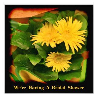 Hydrangea nupcial invitaciones de la ducha del bod anuncios personalizados