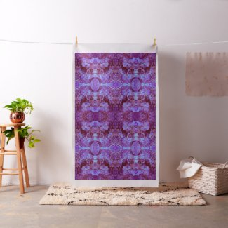 Hydrangea Paisley Mirror Print Fabric