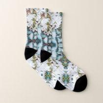 Hydrangea Pattern Socks