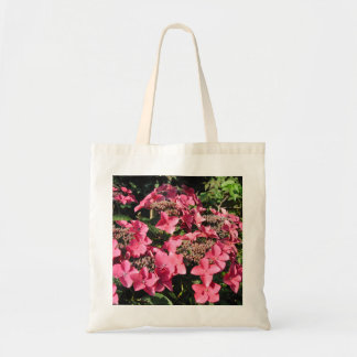 Hydrangea. Pink Flowers. Budget Tote Bag
